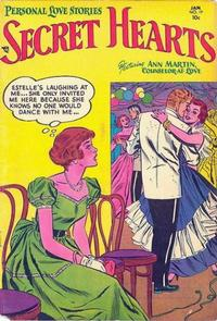 Cover Thumbnail for Secret Hearts (DC, 1949 series) #19