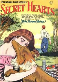 Cover Thumbnail for Secret Hearts (DC, 1949 series) #22