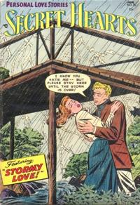 Cover Thumbnail for Secret Hearts (DC, 1949 series) #25