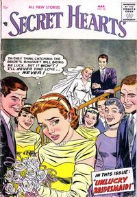 Cover Thumbnail for Secret Hearts (DC, 1949 series) #38
