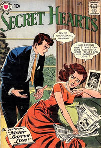 Cover Thumbnail for Secret Hearts (DC, 1949 series) #57