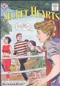 Cover Thumbnail for Secret Hearts (DC, 1949 series) #65