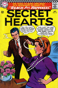 Cover Thumbnail for Secret Hearts (DC, 1949 series) #115