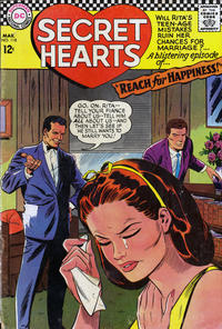Cover Thumbnail for Secret Hearts (DC, 1949 series) #118