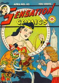 Cover Thumbnail for Sensation Comics (DC, 1942 series) #40
