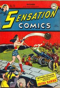 Cover Thumbnail for Sensation Comics (DC, 1942 series) #70