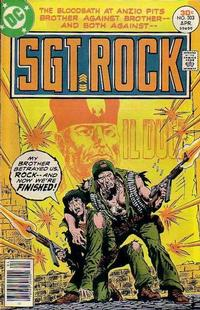 Cover Thumbnail for Sgt. Rock (DC, 1977 series) #303
