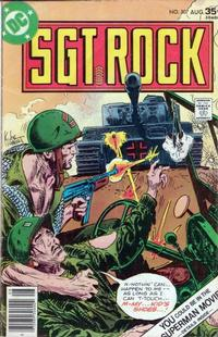 Cover Thumbnail for Sgt. Rock (DC, 1977 series) #307