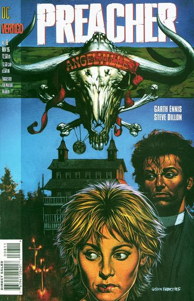 Cover for Preacher (DC, 1995 series) #8