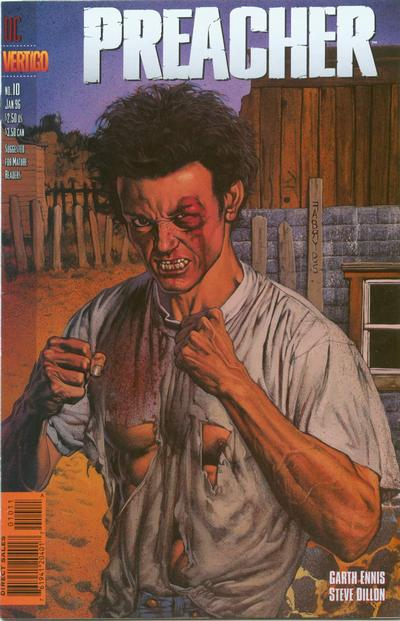 Cover for Preacher (1995 series) #10