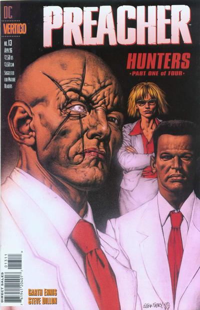 Cover for Preacher (DC, 1995 series) #13
