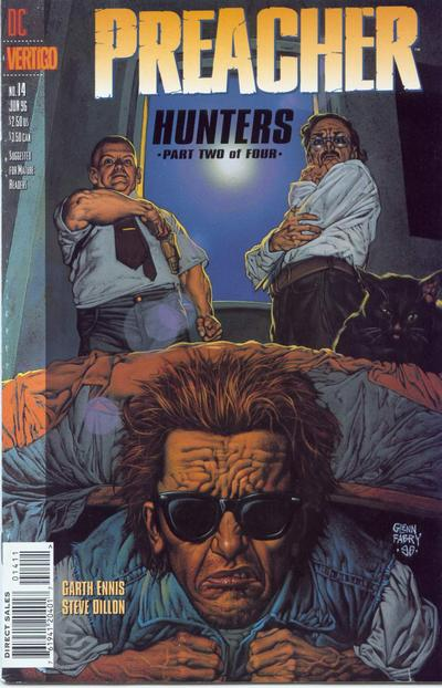Cover for Preacher (1995 series) #14
