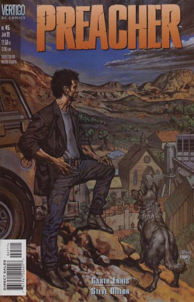 Cover for Preacher (DC, 1995 series) #45