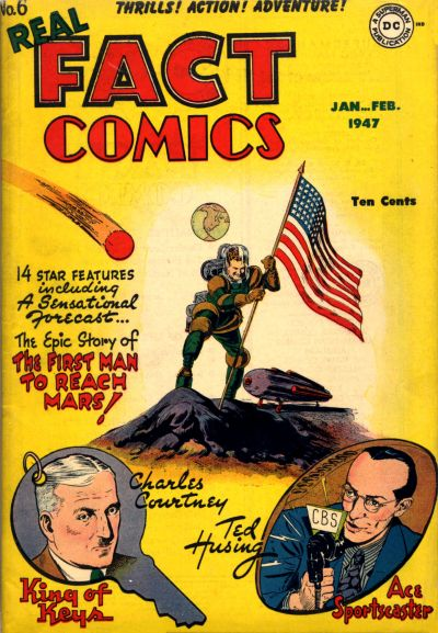 Cover for Real Fact Comics (1946 series) #6
