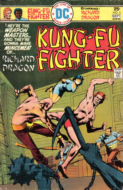 Cover for Richard Dragon, Kung-Fu Fighter (DC, 1975 series) #3