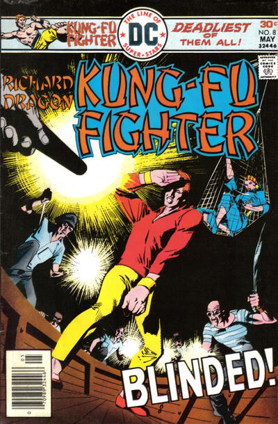 Cover for Richard Dragon, Kung-Fu Fighter (DC, 1975 series) #8