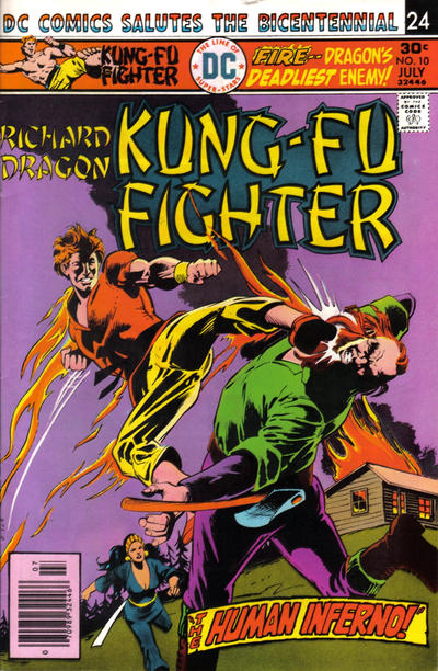 Cover for Richard Dragon, Kung-Fu Fighter (1975 series) #10