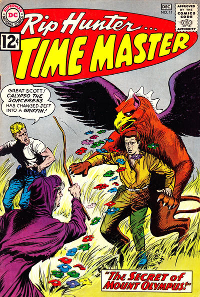 Cover for Rip Hunter ... Time Master (DC, 1961 series) #11