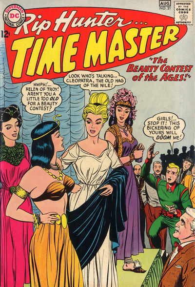 Cover for Rip Hunter ... Time Master (DC, 1961 series) #21