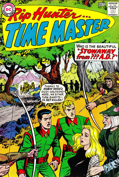 Cover for Rip Hunter ... Time Master (DC, 1961 series) #22