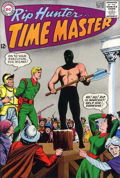 Cover for Rip Hunter ... Time Master (DC, 1961 series) #26