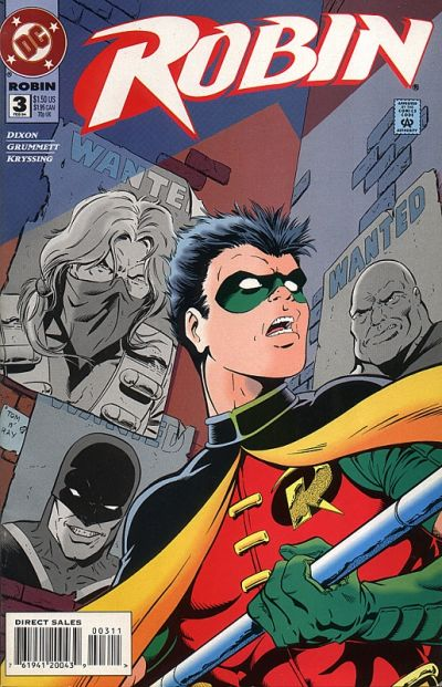 Cover for Robin (DC, 1993 series) #3