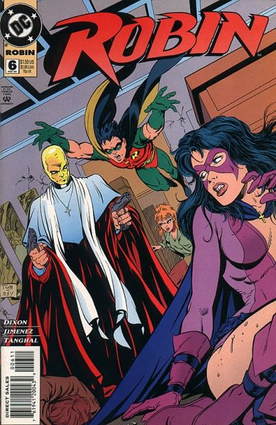 Cover for Robin (DC, 1993 series) #6