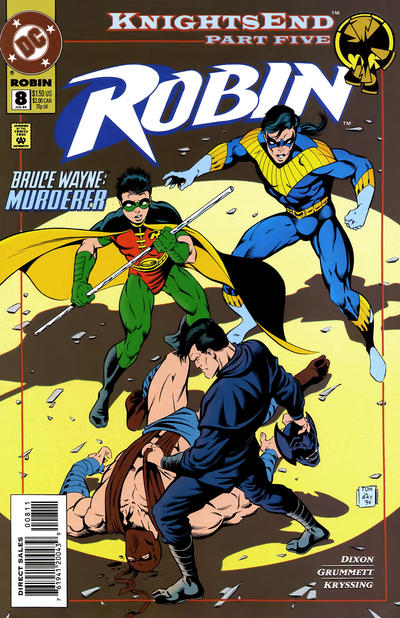 Cover for Robin (DC, 1993 series) #8