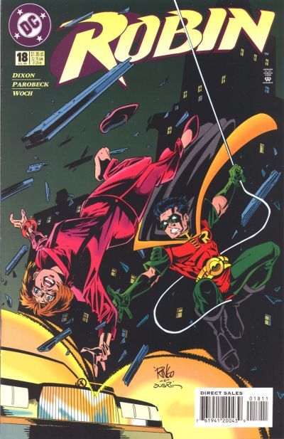 Cover for Robin (DC, 1993 series) #18