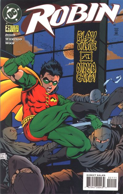 Cover for Robin (DC, 1993 series) #21