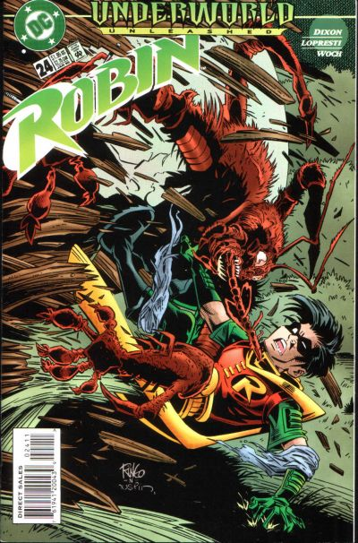 Cover for Robin (DC, 1993 series) #24