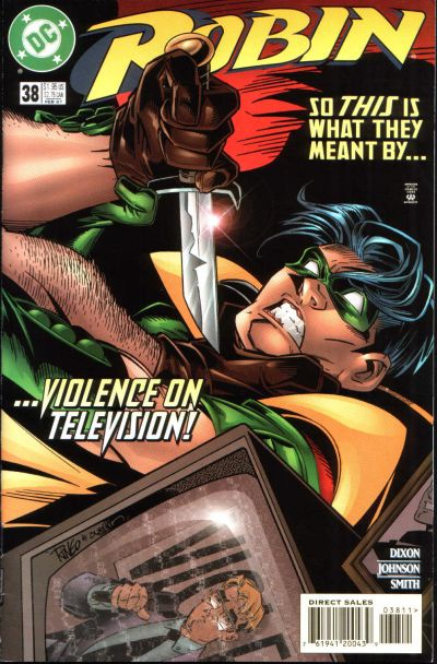 Cover for Robin (DC, 1993 series) #38