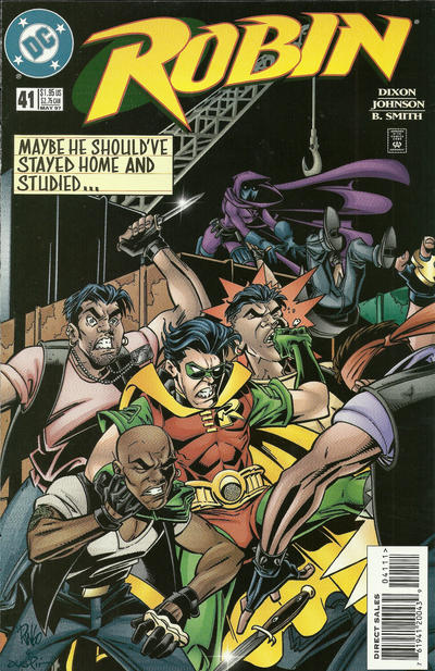 Cover for Robin (DC, 1993 series) #41