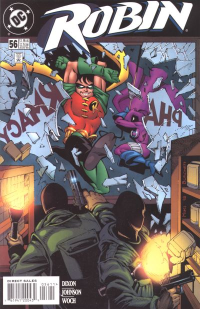 Cover for Robin (DC, 1993 series) #56