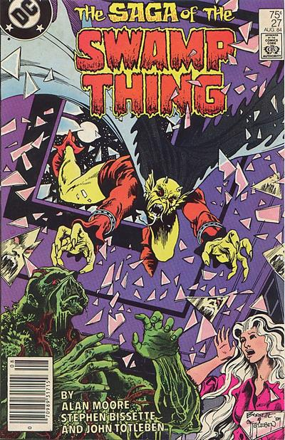 Cover for The Saga of Swamp Thing (DC, 1982 series) #27 [Direct]