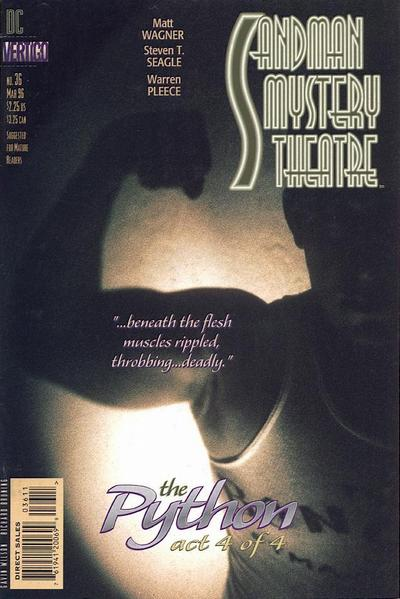 Cover for Sandman Mystery Theatre (DC, 1993 series) #36
