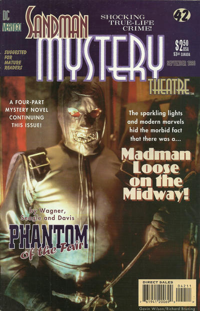 Cover for Sandman Mystery Theatre (DC, 1993 series) #42