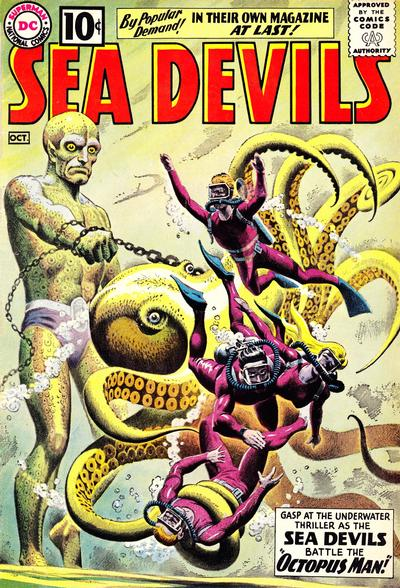 Cover for Sea Devils (1961 series) #1