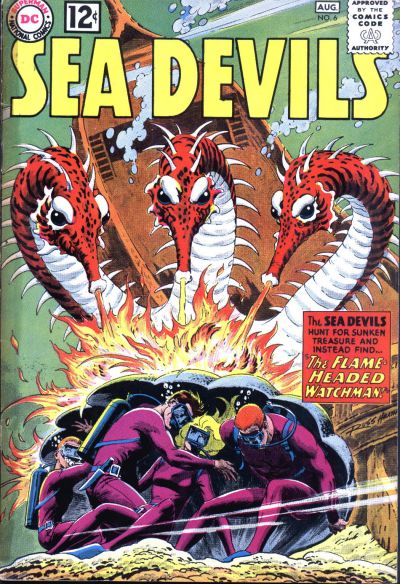 Cover for Sea Devils (1961 series) #6