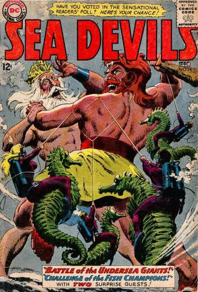 Cover for Sea Devils (1961 series) #14