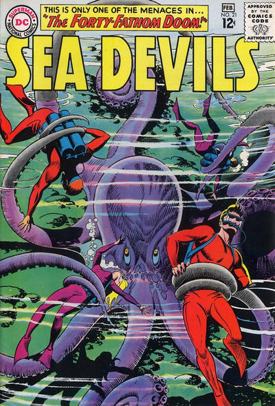 Cover for Sea Devils (1961 series) #21