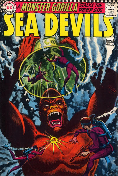 Cover for Sea Devils (DC, 1961 series) #30