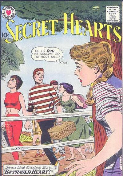 Cover for Secret Hearts (1949 series) #65