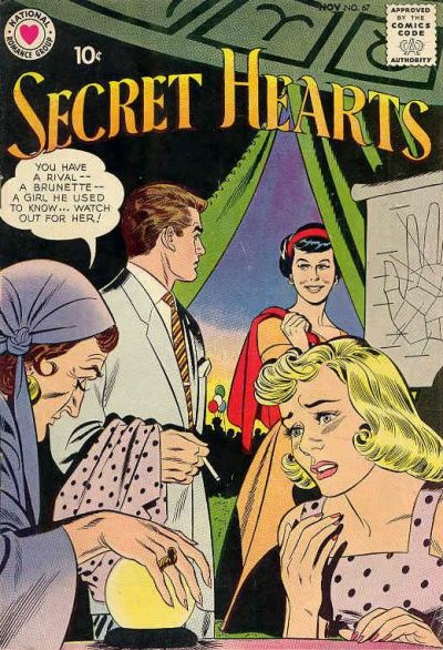 Cover for Secret Hearts (1949 series) #67