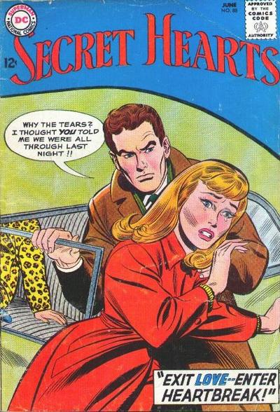 Cover for Secret Hearts (1949 series) #88