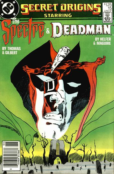 Cover for Secret Origins (DC, 1986 series) #15 [newsstand]