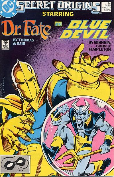 Cover for Secret Origins (1986 series) #24