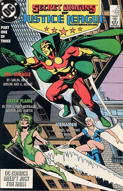 Cover for Secret Origins (DC, 1986 series) #33