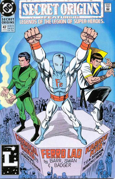 Cover for Secret Origins (1986 series) #47