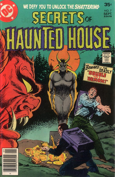 Cover for Secrets of Haunted House (DC, 1975 series) #7